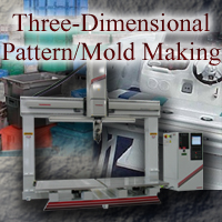 3D Pattern and Mold Applications
