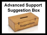 Advanced Support Suggestion Box