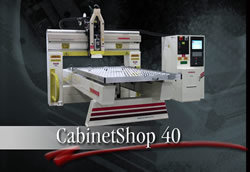 CabinetShop 40 CNC Router by Thermwood