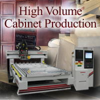 High Volume Cabinet Production