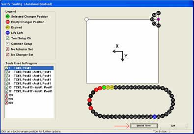 Automatic Tool Management Screenshot