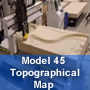 Thermwood Model 45 Time-lapse Machining Topographic Map .