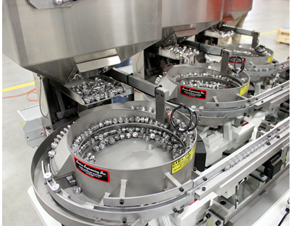 Three (3) Vibratory Feeding Systems