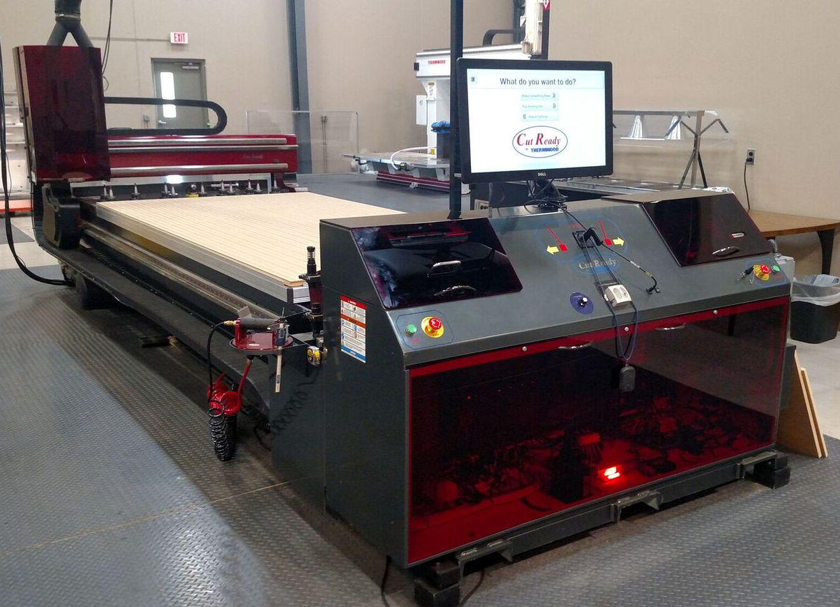 Cut Center 5'x10' Demonstration machine for sale