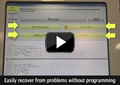 Easily recover from problems without programming