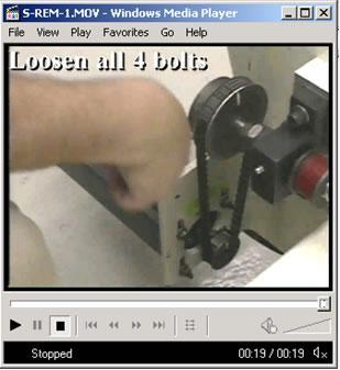 Maintenance Videos Screenshot