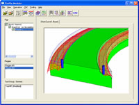 Create modeling program to produce almost any profile without custom tooling